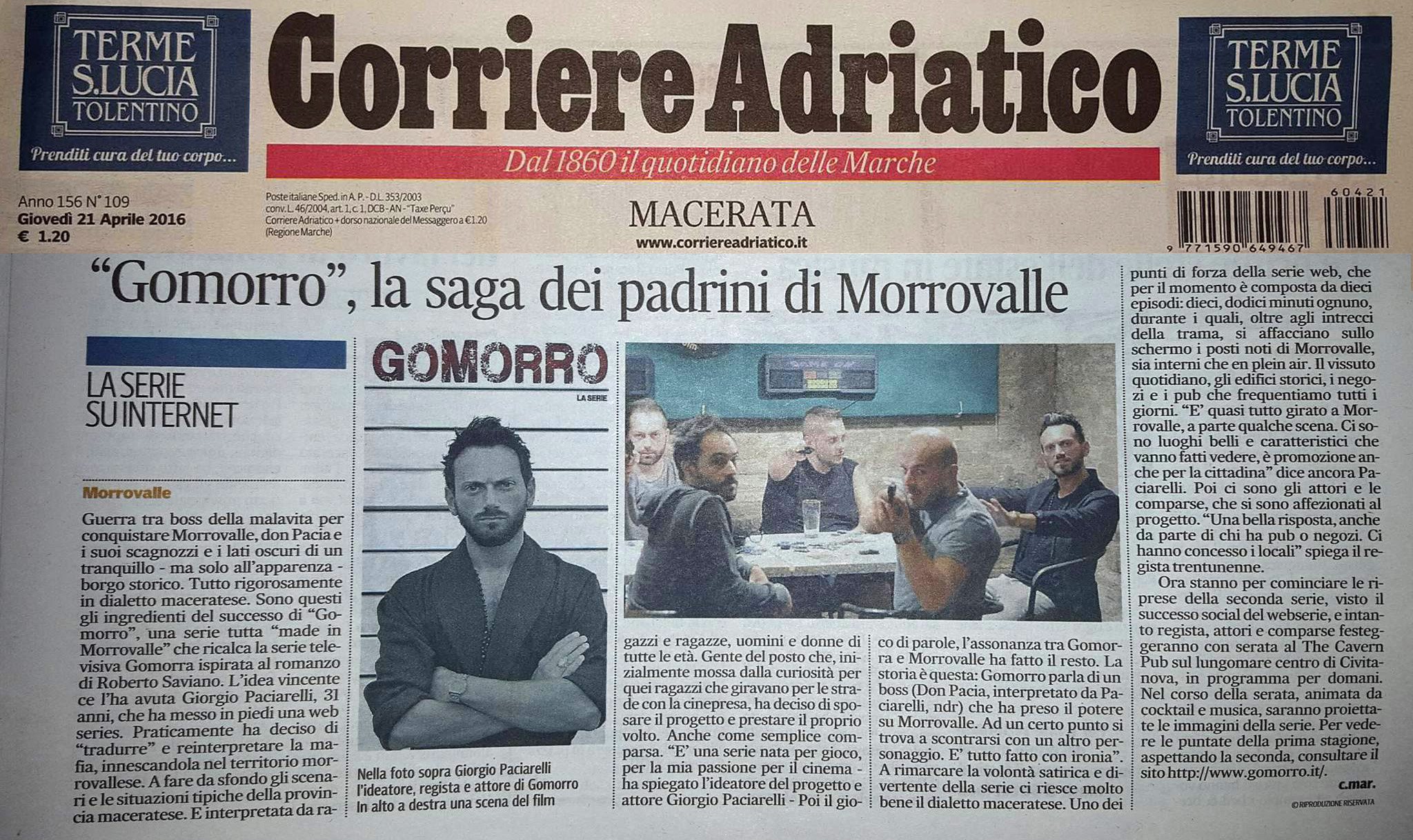 21 aprile 2016 Corriere Adriatico copia